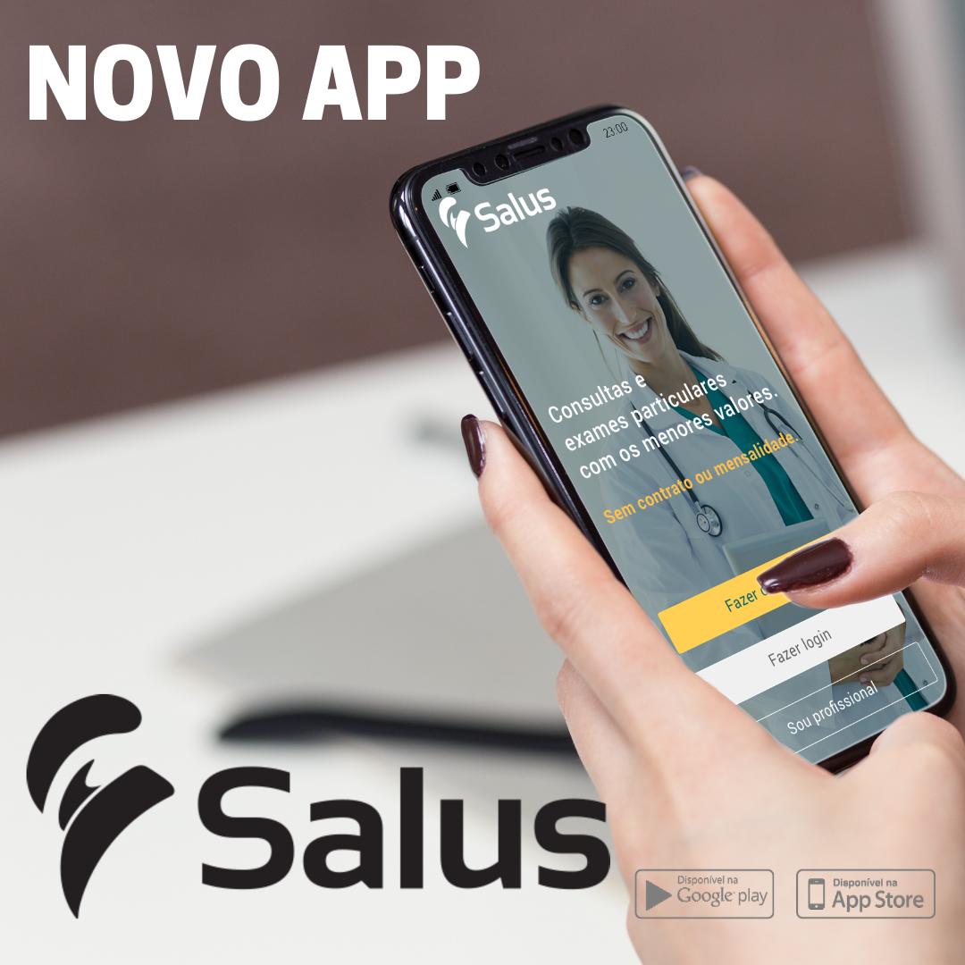 Aplicativo SALUS 7: O que há de novo?